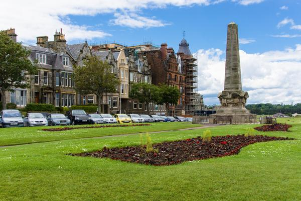 The Martyrs Monument in St Andrews, Scotland