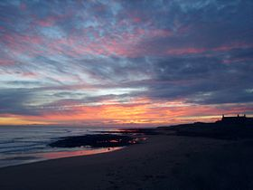Sunrise, St.Combs beach © Ken Pickering