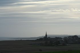 St. Cyrus from the north © John Adams