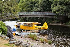 This plane does tours from St. Fillans at Lochearn Side © John McLeish www.images-scotland.com