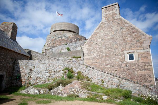 Close up of Elizabeth Castle, Saint Helier, Jersey