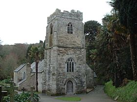 The Church Tower, St Just in Roseland © Revd. John Slee