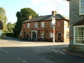 The George Inn at St. Mary Bourne © Karen Lynchehaun