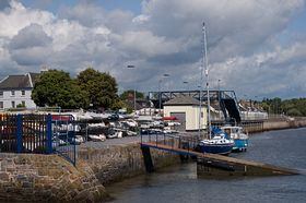 Starcross railway bridge and Starcross Fishing and Cruising Club © Irene Swindell