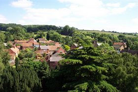 View to the South from the roof of St Guthlac's Church © David Hudson