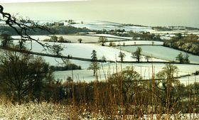 From Bullockfield Hill Stawley looking towards Ashbrittle ©  Chris Cooke