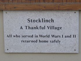 Stocklinch - A Thankful Village © Rod Morris