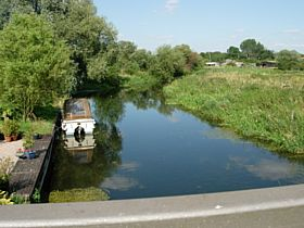 River at Stoke Ferry © Christine Wilson