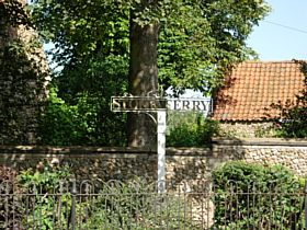 Stoke Ferry Sign © Christine Wilson