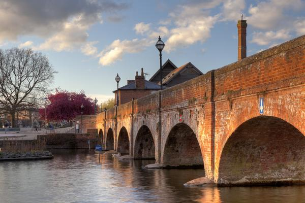 Brick Bridge over the River Avon