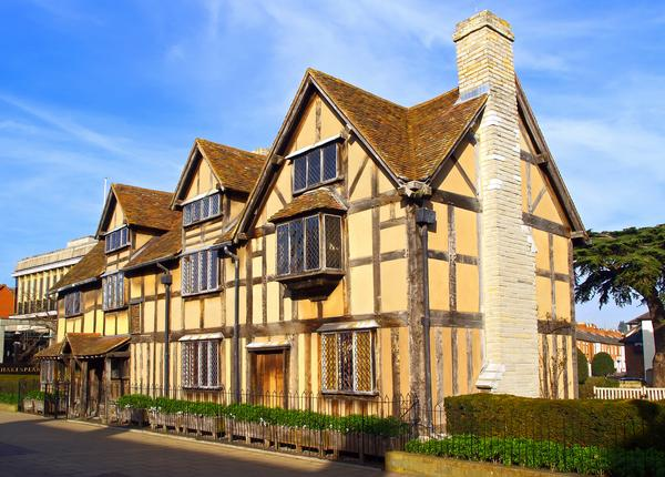 Half-Timbered house - Shakespeare's Birthplace