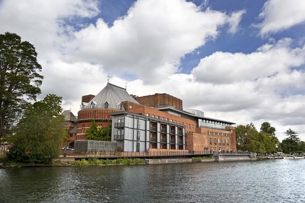 Royal Shakespeare Theatre and the River Avon