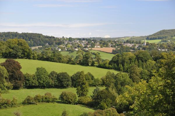 The Painswick Valley, near Stroud in Gloucestershire
