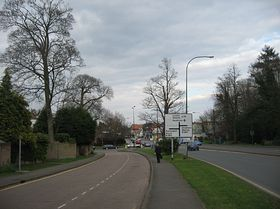Along A30, between the station and other shops © Lynn Douet