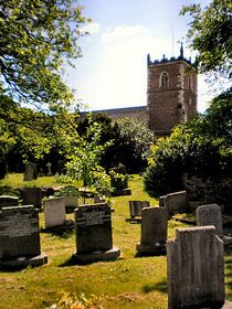 St James' 13th century church © Robert Haywood