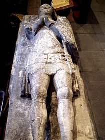 Tomb of Sir John de Sutton, 1346 © Robert Haywood