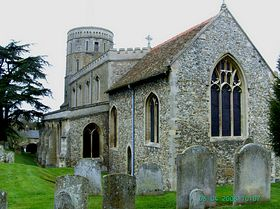 St Mary's, Swaffham Prior © Christopher Aylmer