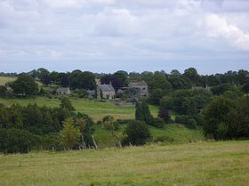 View of the West side of Syde taken on the road to Brimpsfield © Simon Wolton