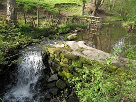 One of many local water falls © Chris Knightley