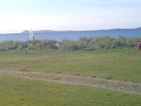 A view from Point Sands Caravan Park, a mile or so from Tayinloan © Jim Ewart