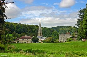 St. Michael's Church and Teffont Manor © Graham Rains
