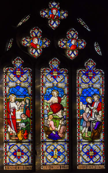 Stained Glass, All Saints Church