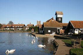 Thorpeness Lake © Charles Dawson 2007