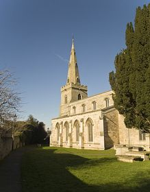 Thrapston Church © Mark Baldwyn
