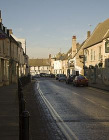 View of Thrapston © Mark Baldwyn