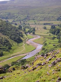 River Swale from Kisdon © Thwaitedale Cottages