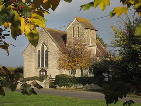 St. Andrew Church, Todber. Autumn 2010. © Michael