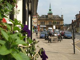The Market Square looking South © Paul Howard Photography