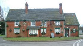 This is Troston's pub that provides wonderful food and cheap rooms. © Steph Godbold