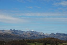 View of the Mountains from the Kirkstone Pass Road situated above Troutbeck © Mr Philip Moon (HKt.B)