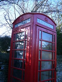 Phone Box, village green © Helena Longman