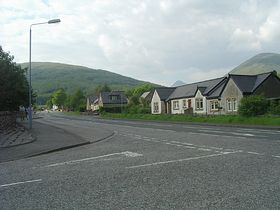 Tyndrum village © Linda Gamston