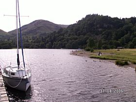 View from Ullswater Steamers Jetty  © Pat Boden