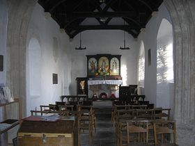Norman Church Interior © Rod Morris