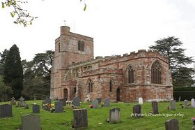 St Peter�s Church Upper Arley April 2009  © Alan
