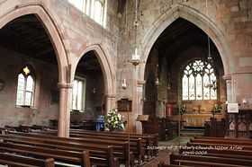 Interior of St Peter�s Church Upper Arley April 2009  © Alan