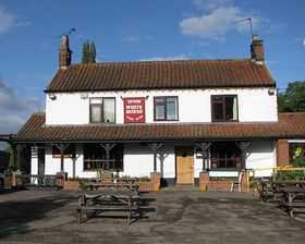 Pub.in Upton ©  Peggy Cannell