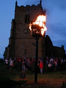 beacon service at Walesby church © Les and Angela Mayne