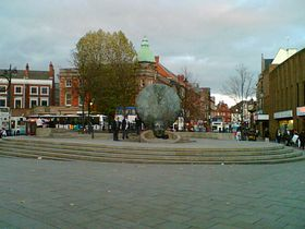 Walsall town centre © Moonis Hussain