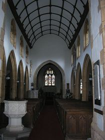 Church interior © Rod Morris