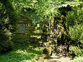 Entrance to Slit Wood Westgate Co. Durham © Paul Craig