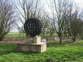 A Sculpture in Whaplode © Roy Harrison