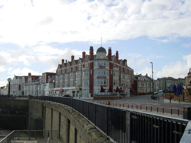 Hotel on Seafront © Michael Costigan
