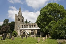 Saints Peter and Paul church,Wigtoft. © Martin E. Morris