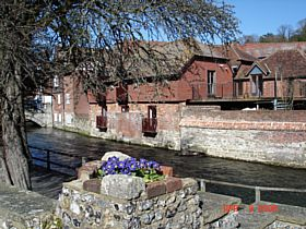 River Walk Winchester © A. M. Taylor
