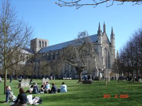 Winchester Cathedral © A. M. Taylor